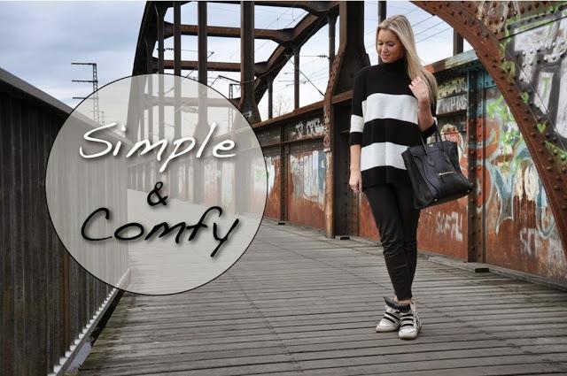 Schwarz-weiß, Outfit, Fashion Blogger