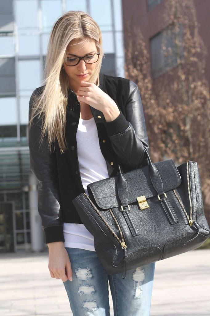 Chanel Brille, 3.1 Phillip Lim Bag, Pazi