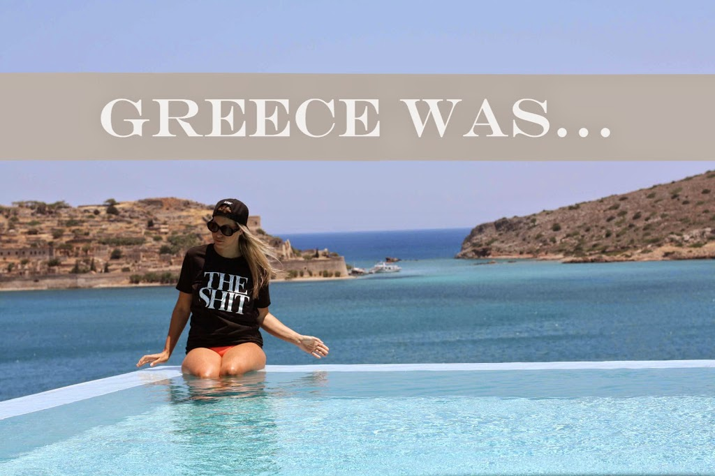 Greece, Griechenland, Vacation, The Shit Shop, Bonnie Strange, Maison Pazi