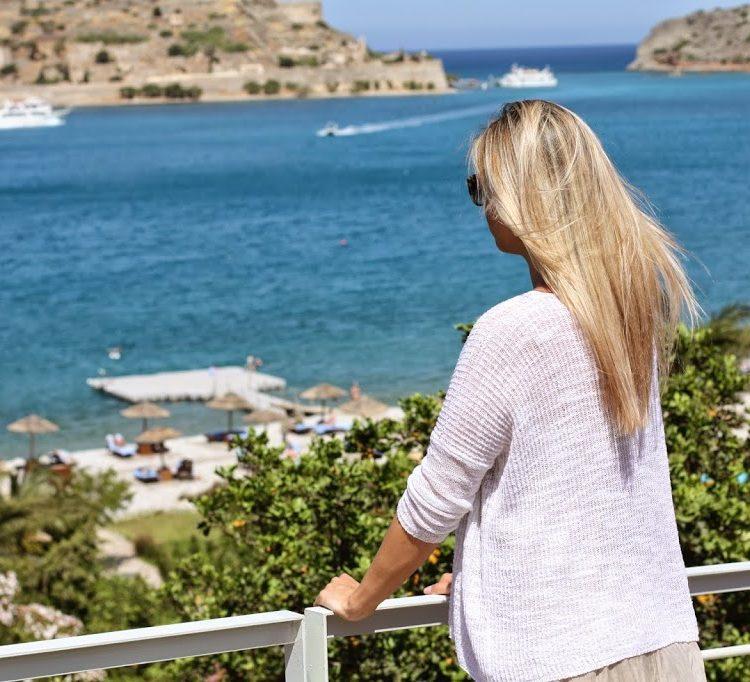 Ausblick auf das Meer von Kreta