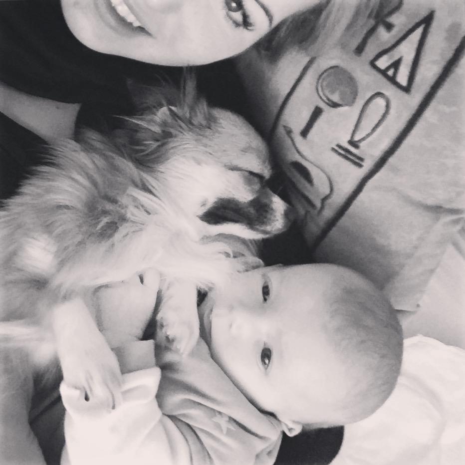 Partnerschaft mit Baby