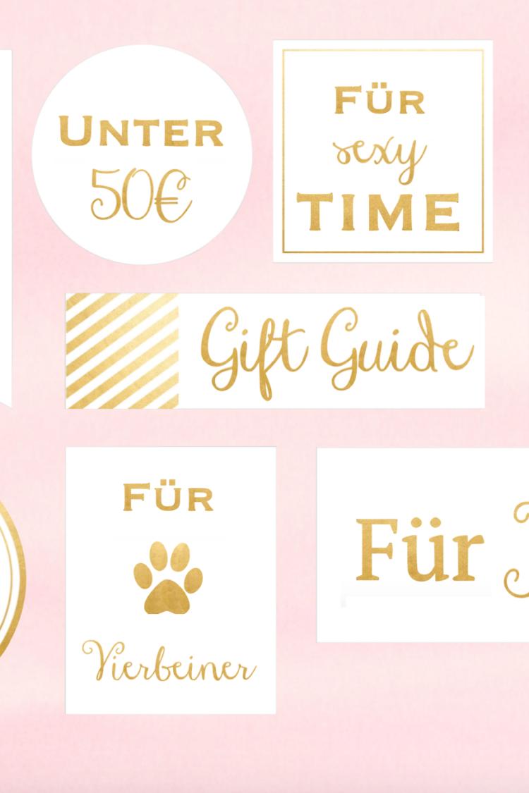 Christmas Gift Guide 2015 Geschenkideen