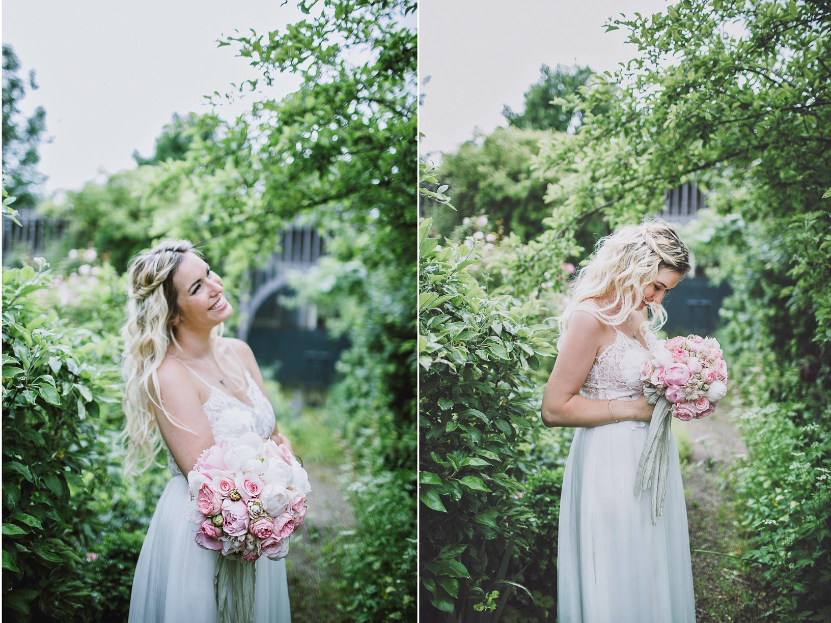 Die Hochzeit von Ronny und Patrizia Philp in der Alten Gärtnerei in Taufkirchen mit einem Brautkleid von Kaviar Gauche