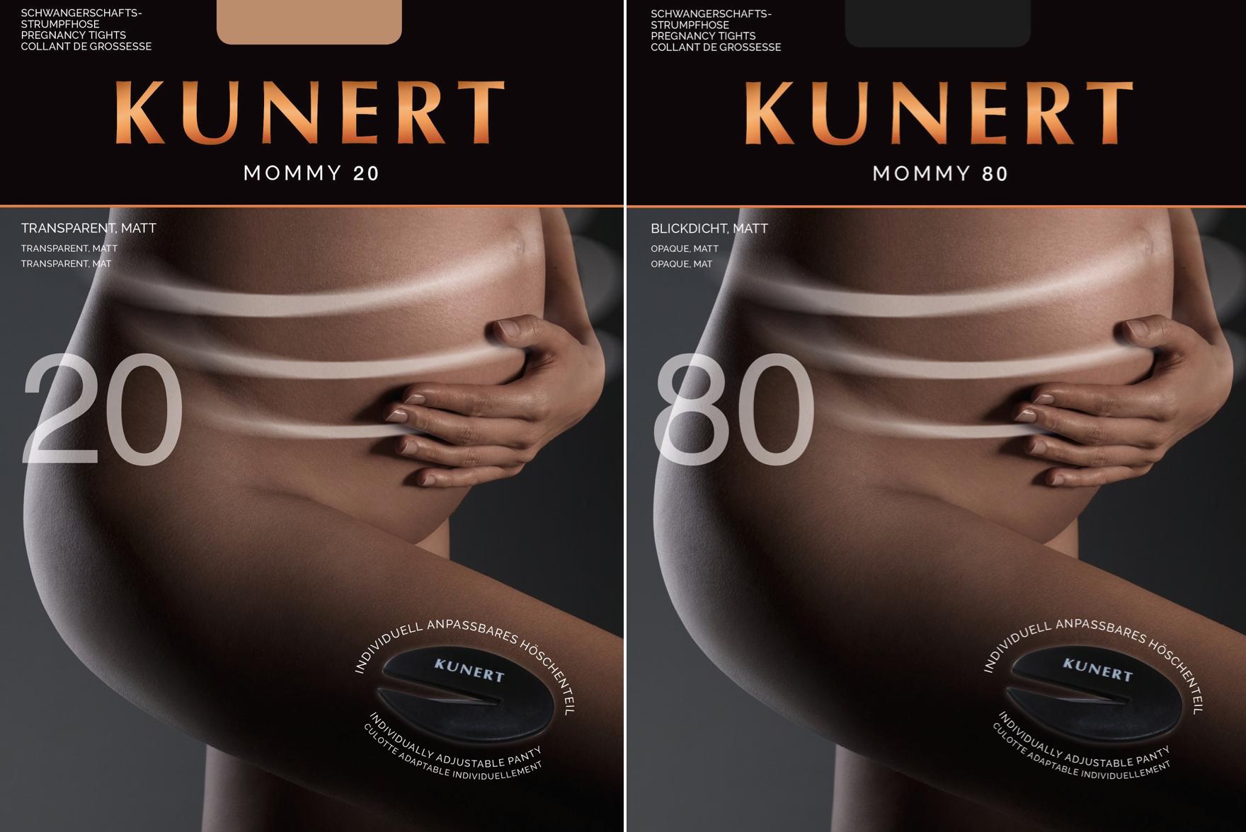 Schwangerschaftsstrumpfhose Tommy Tights von Kunert