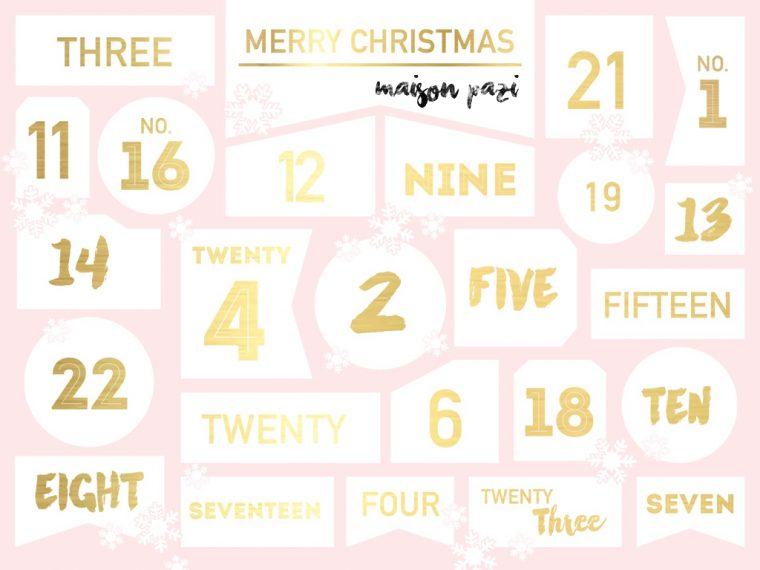 Maison Pazi Adventskalender 2016 Blogger Adventskalender
