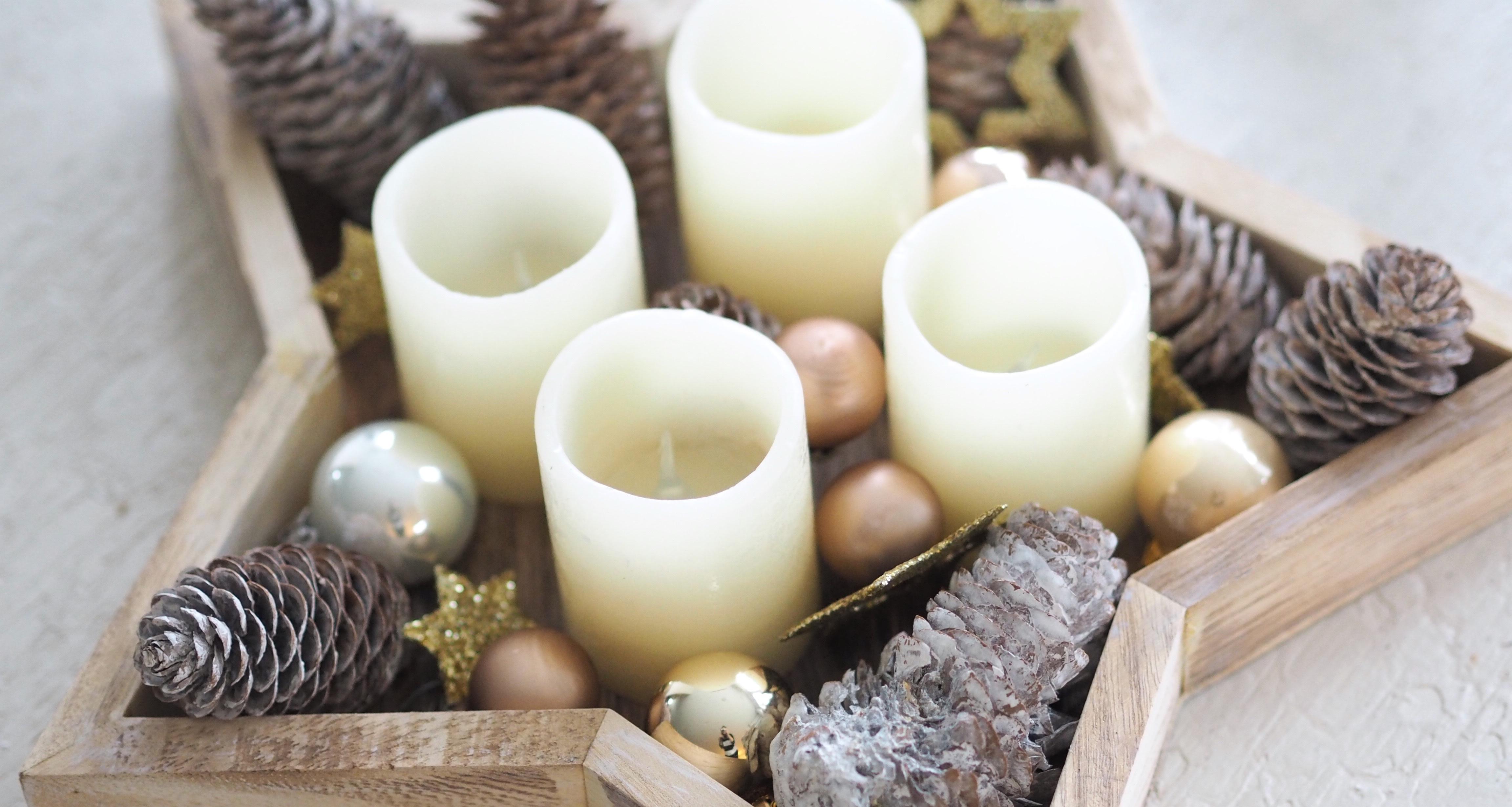 Weihnachten Dekodieren mit Lidl, SantaClara, Weihnachtenistfüralle