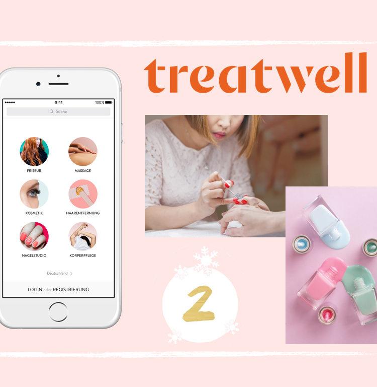 Maison Pazi Adventskalender Treatwell, Beauty Onlineplatform, spontan Beauty Termin