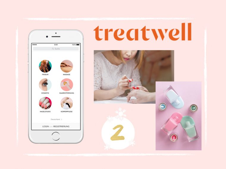 Maison Pazi Adventskalender Treatwell, Beauty Onlineplatform, spontan Beauty Termin