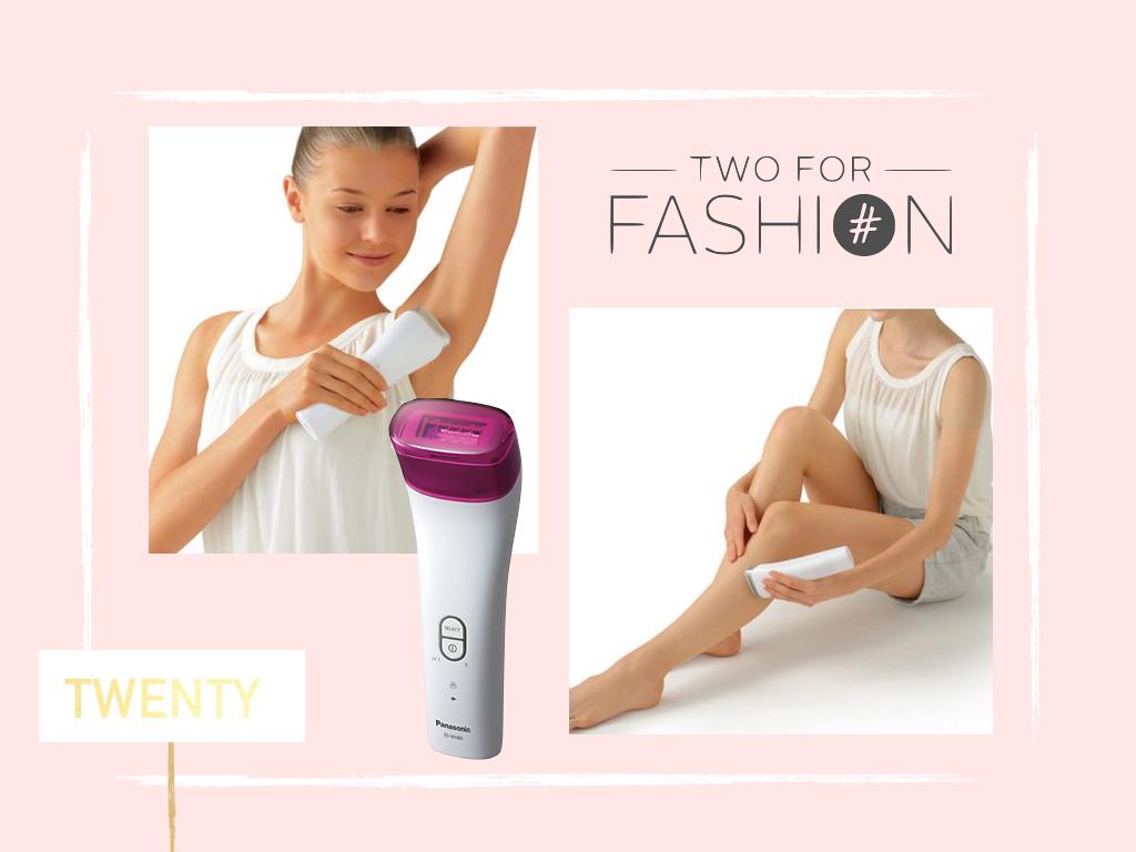 Two for Fashion verlost den Panasonic IPL Haarentferner im Maison Pazi Adventskalender