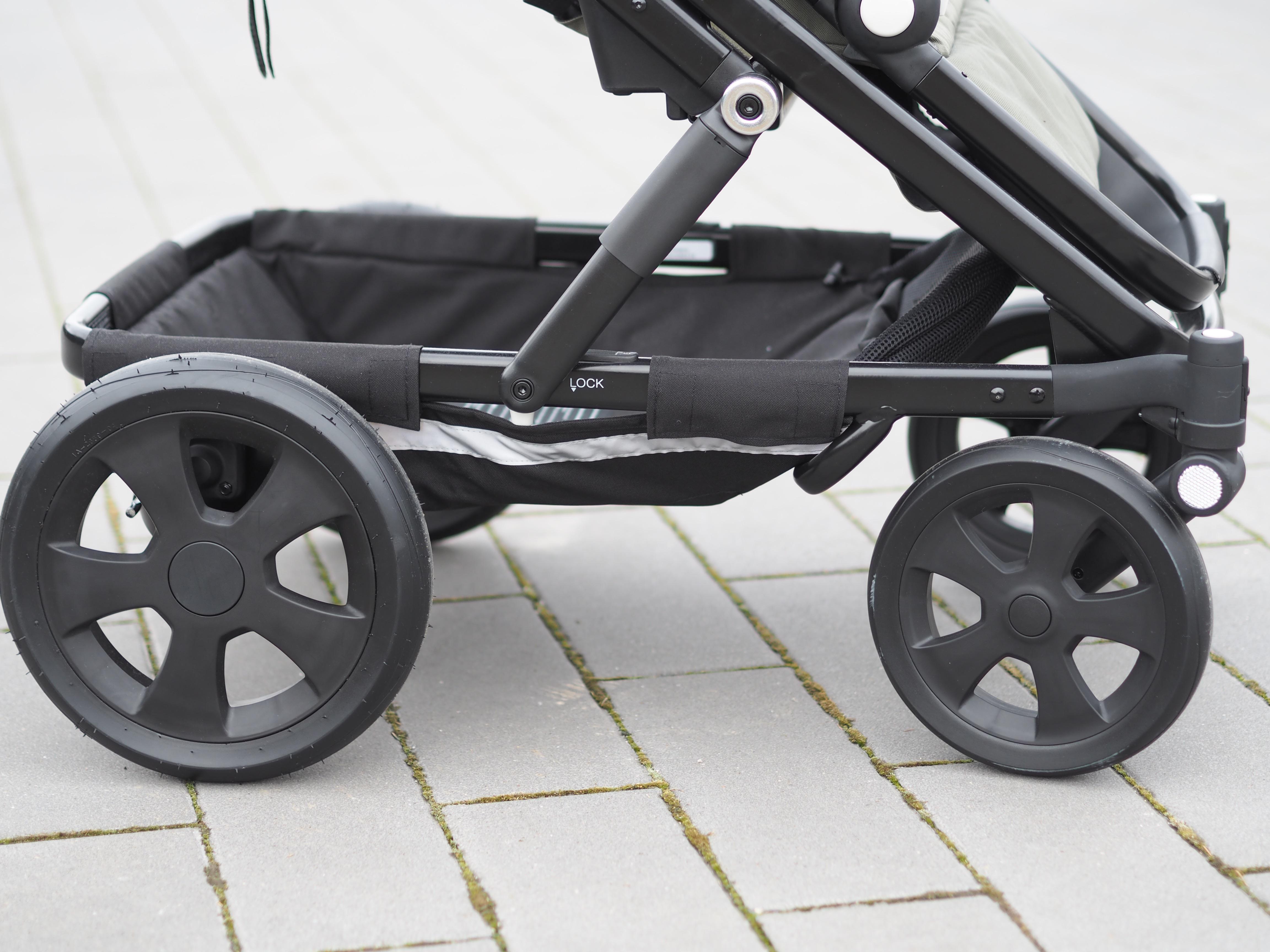 Der britax Go Big Kinderwagen im Test auf Maison Pazi
