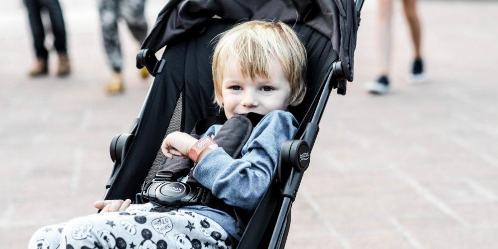 Reisen mit Kind: Unterwegs mit dem BRITAX HOLIDAY