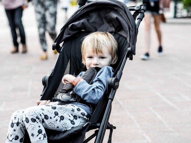 Britax Holiday der neue Kinderwagen für Reisen und Ausflüge getestet auf Maison Pazi