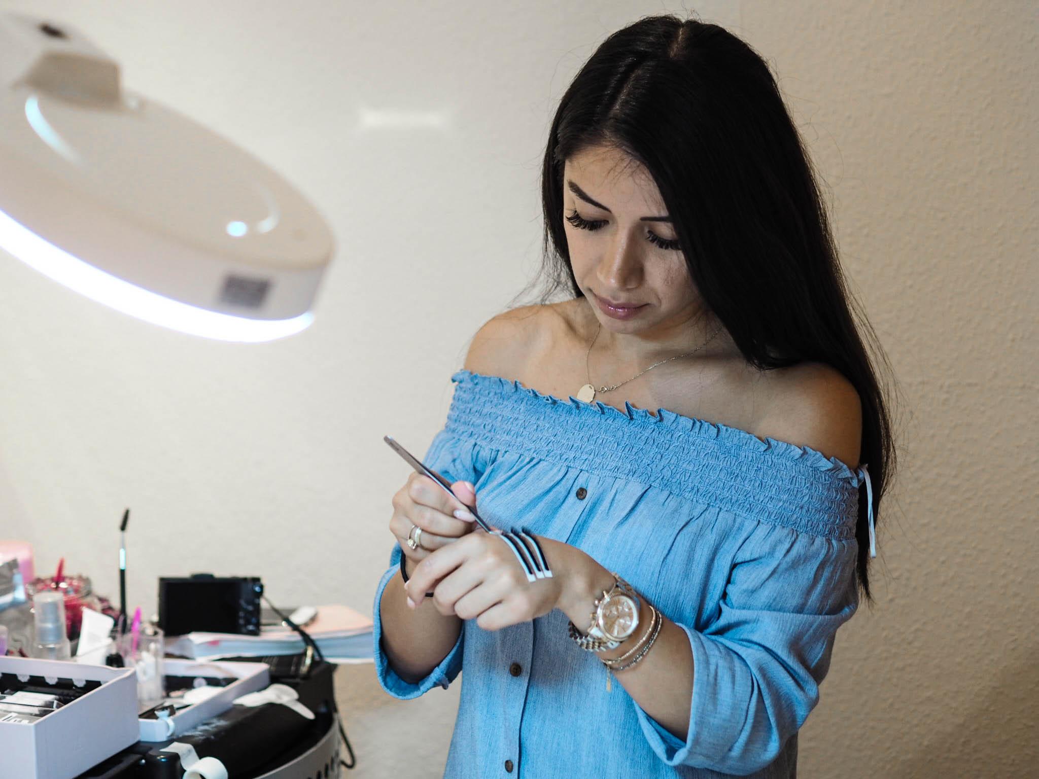 Maison Pazi Wimpernverlängerung bei Si Belle Make up und Lashes in Schwabach
