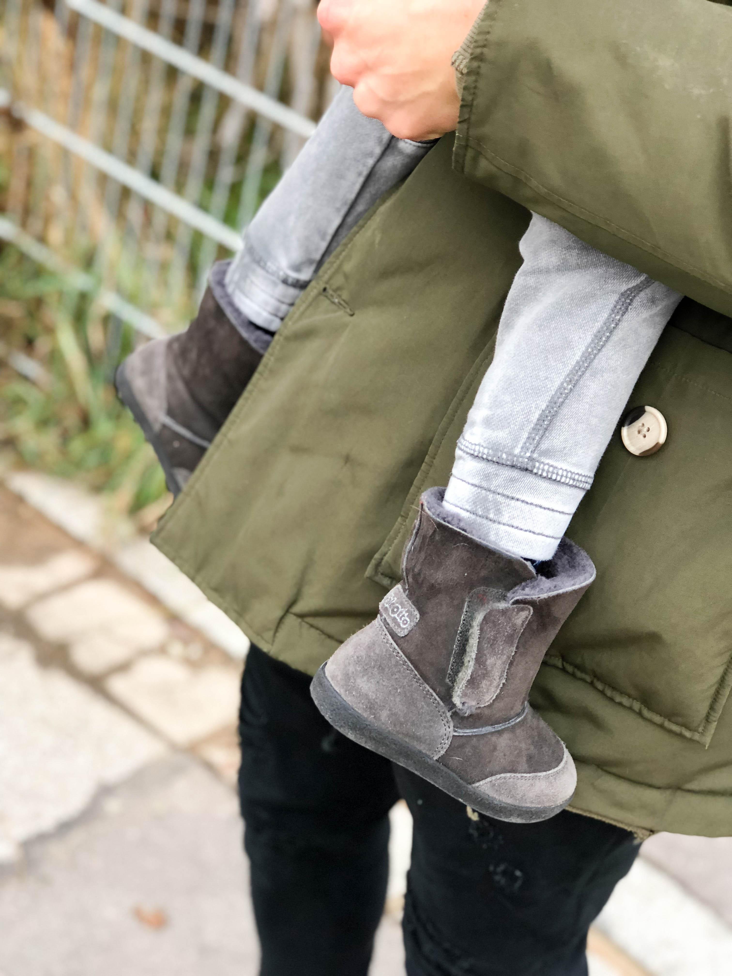 Outdoor-Aktivitäten mit Kindern im Winter